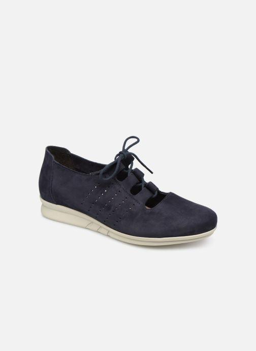 Chaussures à lacets Hirica Patty Bleu vue détail/paire