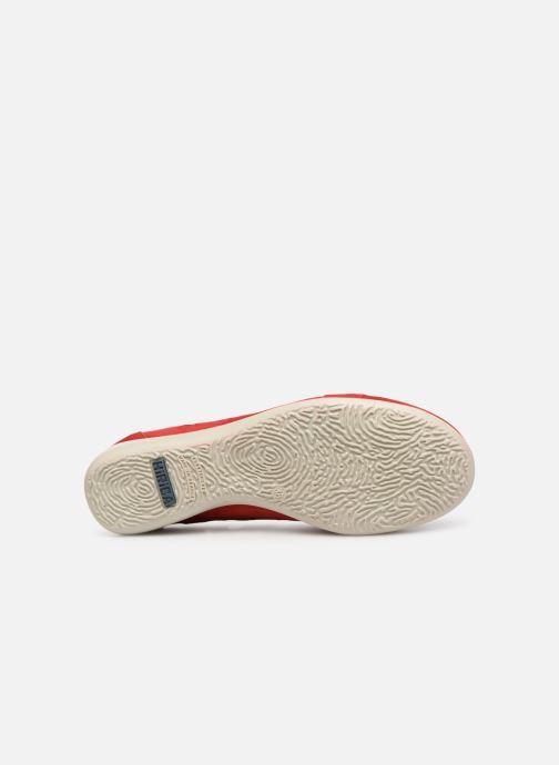 Chaussures à lacets Hirica Lexie Rouge vue haut