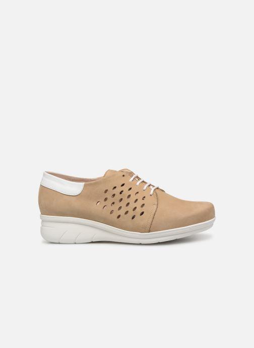 Chaussures à lacets Hirica Daniel Beige vue derrière