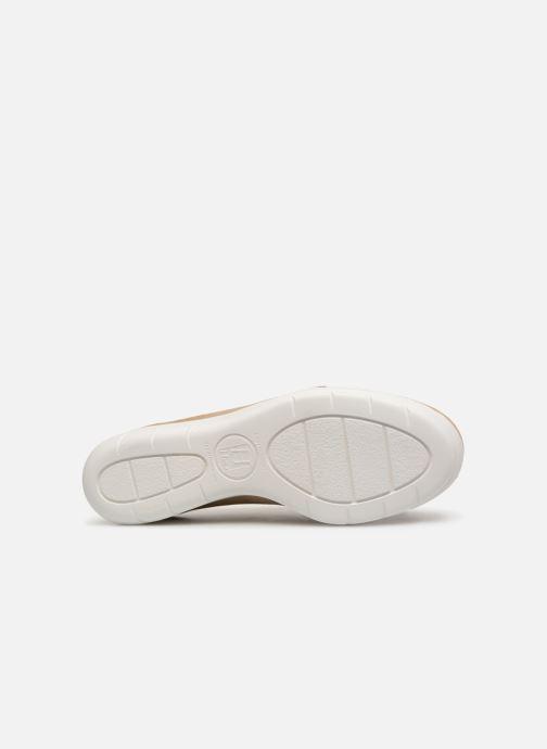 Chaussures à lacets Hirica Daniel Beige vue haut