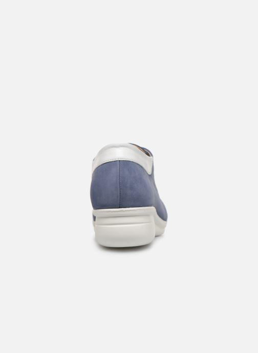 Snörade skor Hirica Daniel Blå Bild från höger sidan