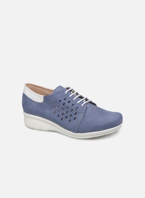 Hirica Daniel (bleu) - chaussures à lacets chez