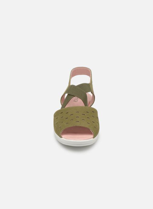 Sandales et nu-pieds Hirica Davina Vert vue portées chaussures