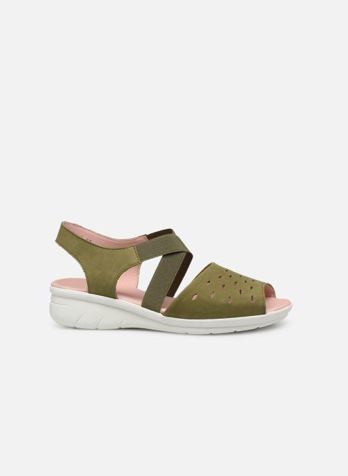 Sandales et nu-pieds Hirica Davina Vert vue derrière