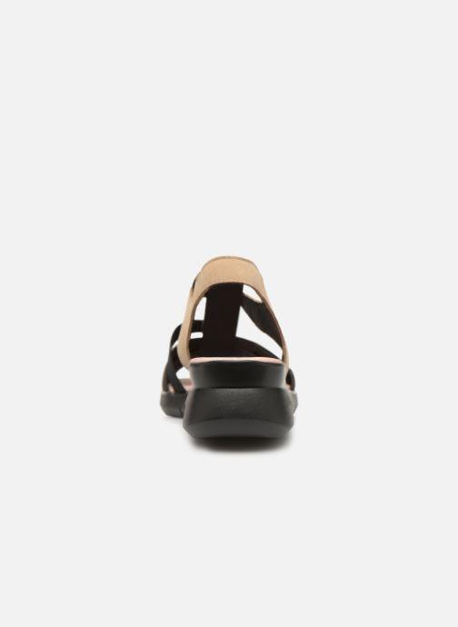 Sandales et nu-pieds Hirica Harriet Beige vue droite