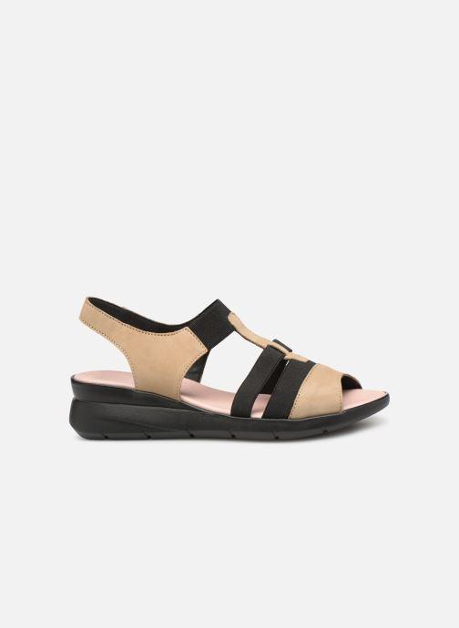 Sandales et nu-pieds Hirica Harriet Beige vue derrière