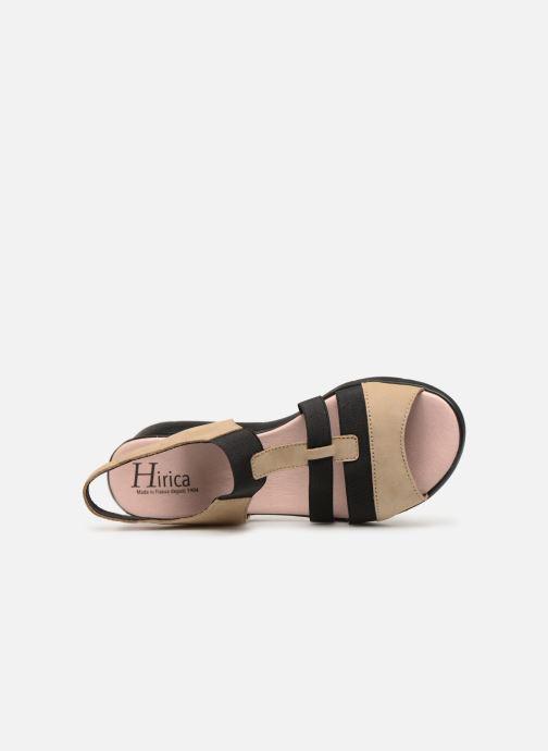 Sandales et nu-pieds Hirica Harriet Beige vue gauche