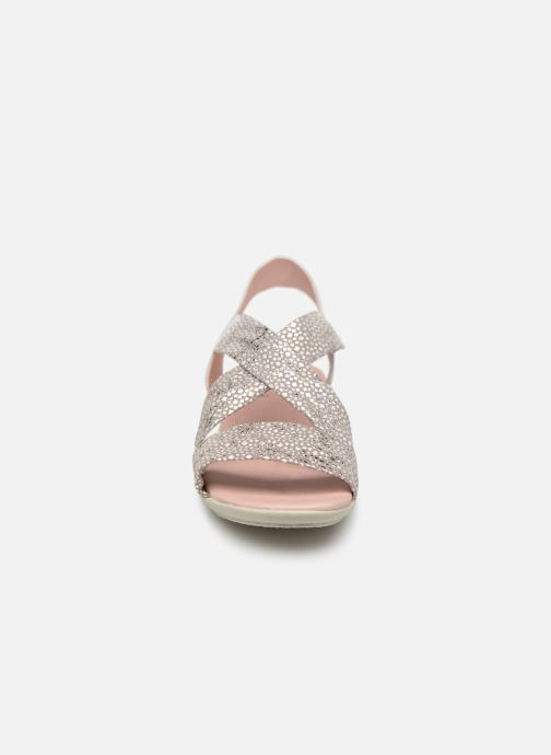 Sandales et nu-pieds Hirica Raiponce Blanc vue portées chaussures