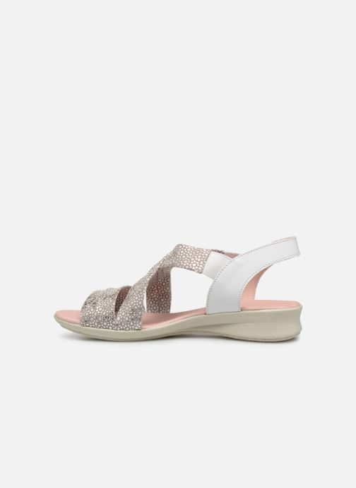 Sandals Hirica Raiponce White front view