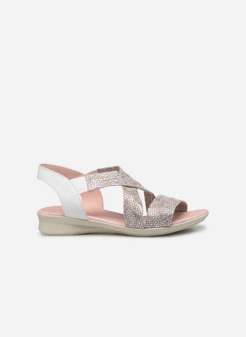 Sandales et nu-pieds Hirica Raiponce Blanc vue derrière
