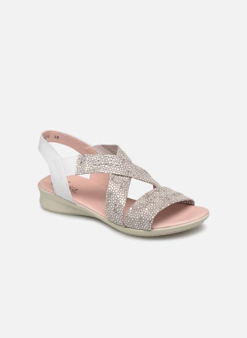 Sandales et nu-pieds Hirica Raiponce Blanc vue détail/paire