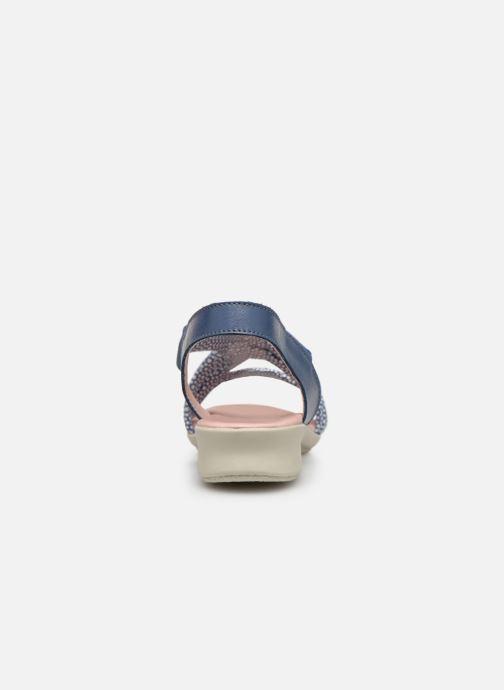 Sandales et nu-pieds Hirica Raiponce Bleu vue droite