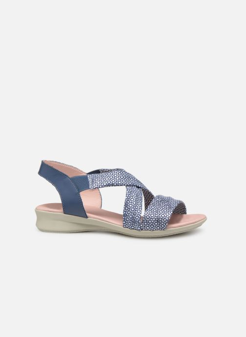 Sandaler Hirica Raiponce Blå bild från baksidan
