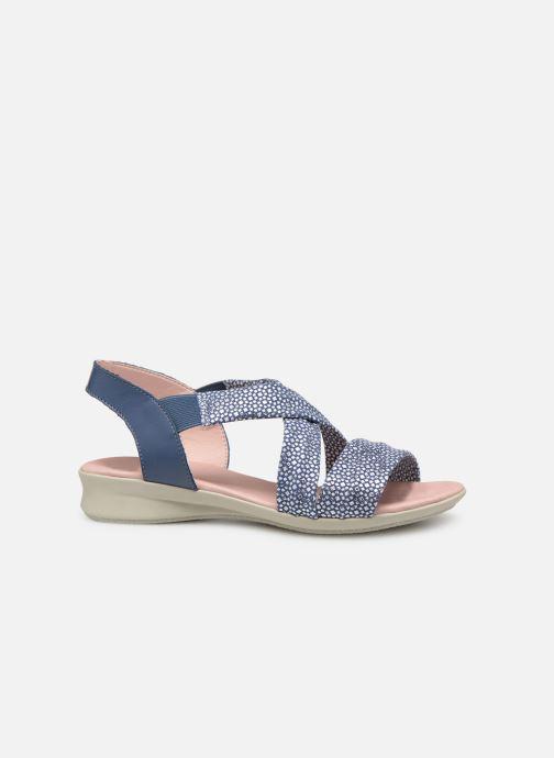 Sandales et nu-pieds Hirica Raiponce Bleu vue derrière