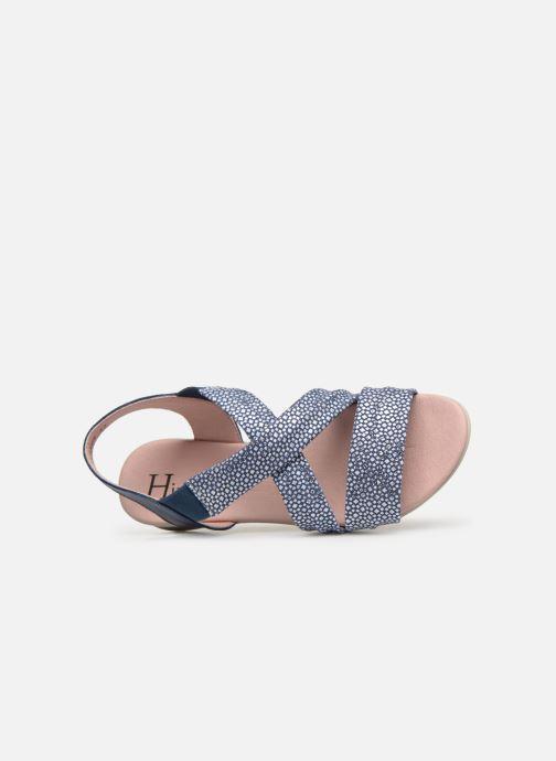 Sandales et nu-pieds Hirica Raiponce Bleu vue gauche