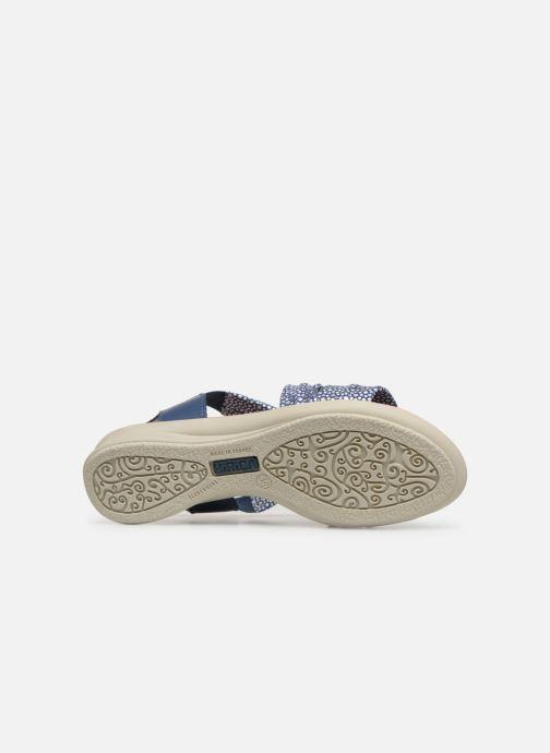 Sandales et nu-pieds Hirica Raiponce Bleu vue haut