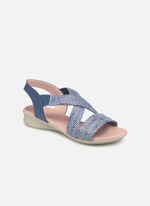 Sandales et nu-pieds Hirica Raiponce Bleu vue détail/paire