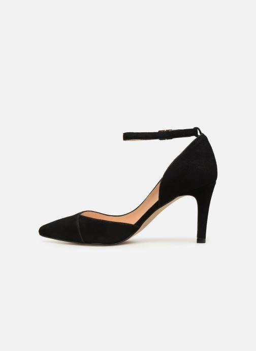 Zapatos de tacón Georgia Rose Ermeline Negro vista de frente