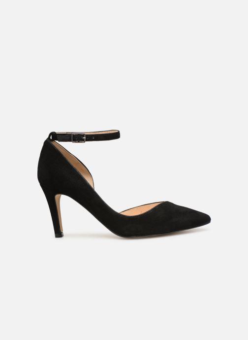 Zapatos de tacón Georgia Rose Ermeline Negro vistra trasera