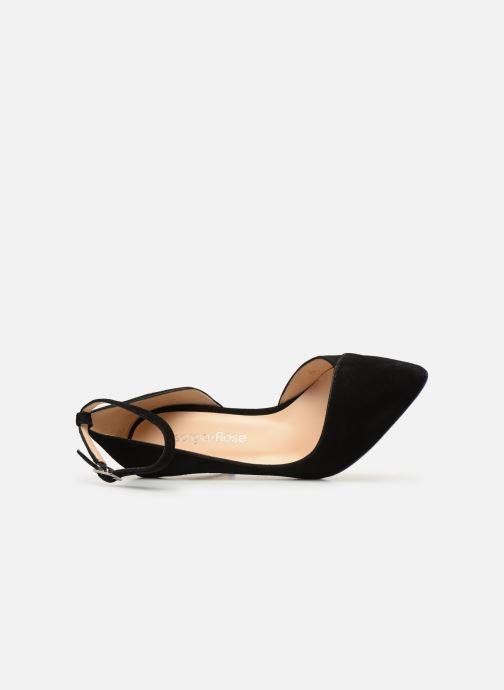 Zapatos de tacón Georgia Rose Ermeline Negro vista lateral izquierda