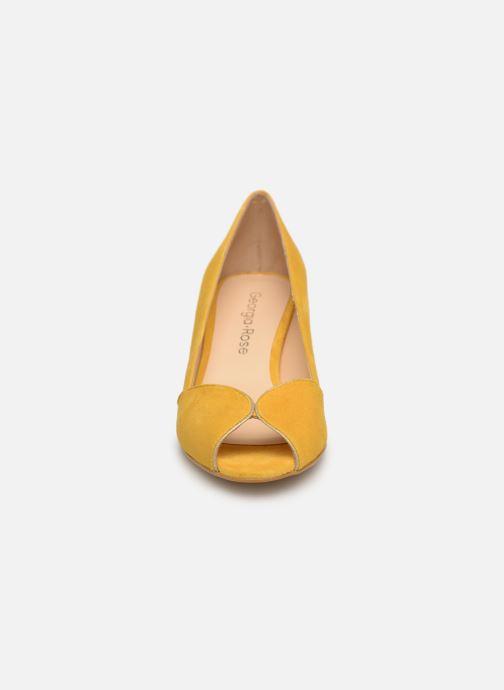 Escarpins Georgia Rose Evika Jaune vue portées chaussures