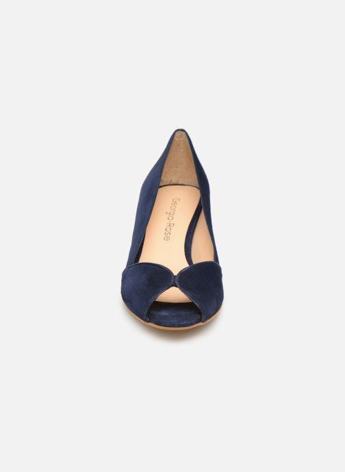 Escarpins Georgia Rose Evika Bleu vue portées chaussures