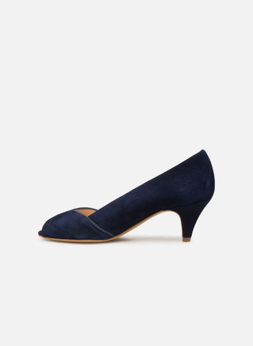 Zapatos de tacón Georgia Rose Evika Azul vista de frente