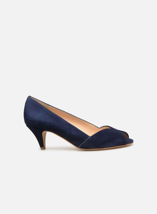 Zapatos de tacón Georgia Rose Evika Azul vistra trasera