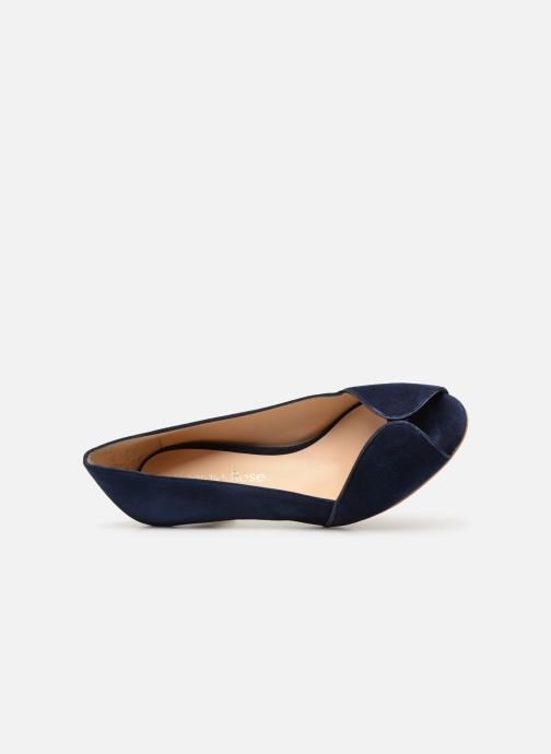 Zapatos de tacón Georgia Rose Evika Azul vista lateral izquierda
