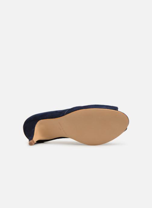 Zapatos de tacón Georgia Rose Evika Azul vista de arriba