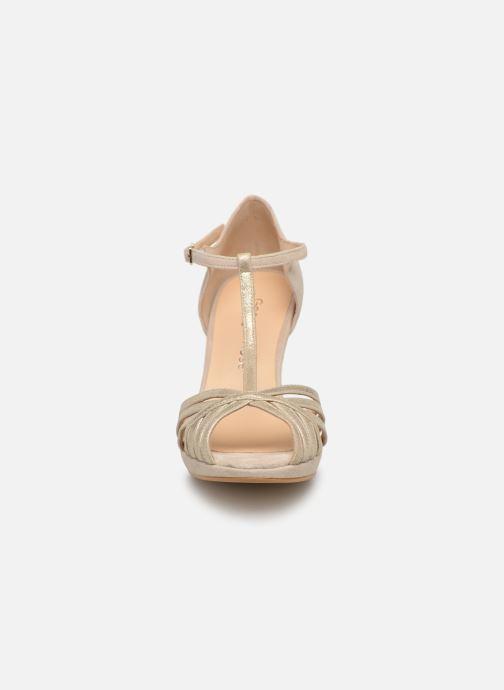 High heels Georgia Rose Ethelle Beige model view