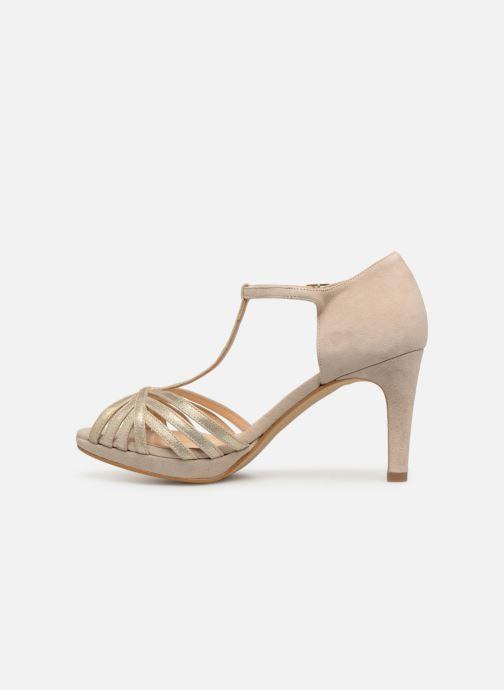High heels Georgia Rose Ethelle Beige front view