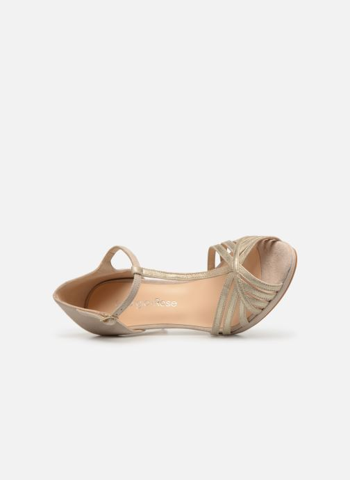 Pumps Georgia Rose Ethelle beige ansicht von links