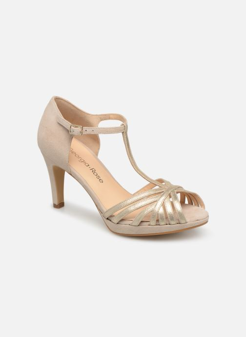 High heels Georgia Rose Ethelle Beige detailed view/ Pair view