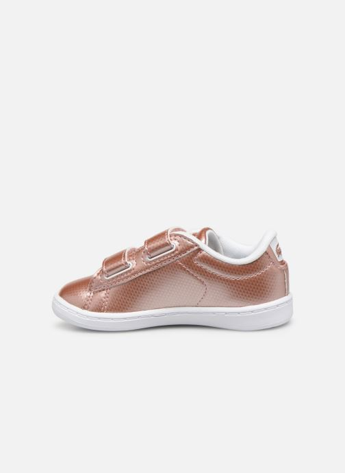 Baskets Lacoste Carnaby Evo 119 6 Inf Rose vue face
