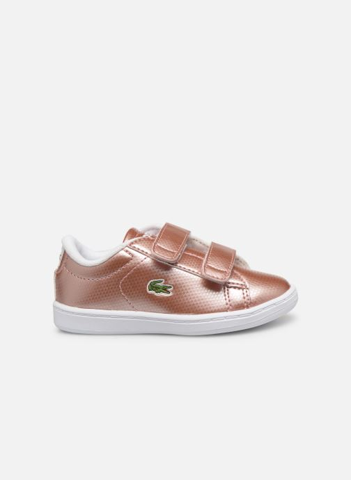 Baskets Lacoste Carnaby Evo 119 6 Inf Rose vue derrière