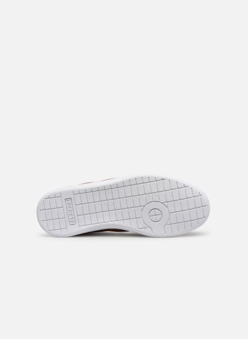 Sneakers Lacoste Carnaby Evo 119 6 Kids Argento immagine dall'alto