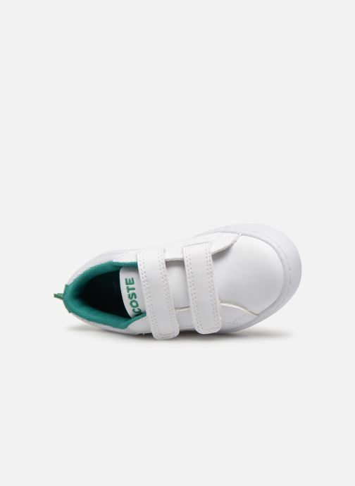 Sneakers Lacoste STRAIGHTSET 119 1 Wit links