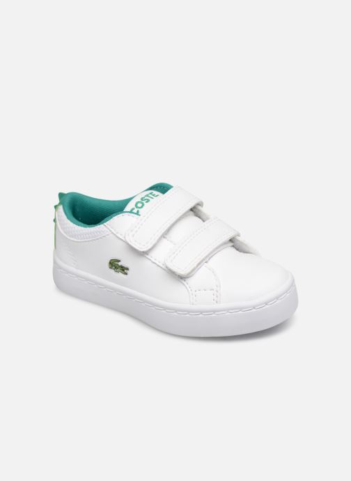 Sneakers Lacoste STRAIGHTSET 119 1 Wit detail