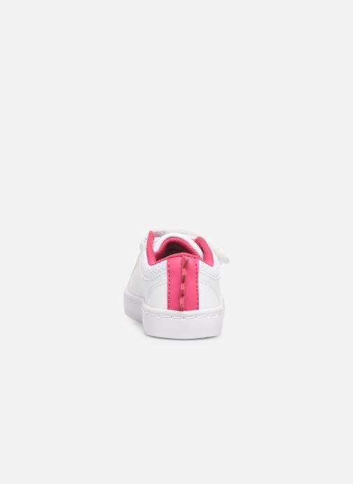 Sneakers Lacoste STRAIGHTSET 119 1 Vit Bild från höger sidan