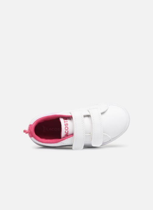 Sneakers Lacoste STRAIGHTSET 119 1 Vit bild från vänster sidan