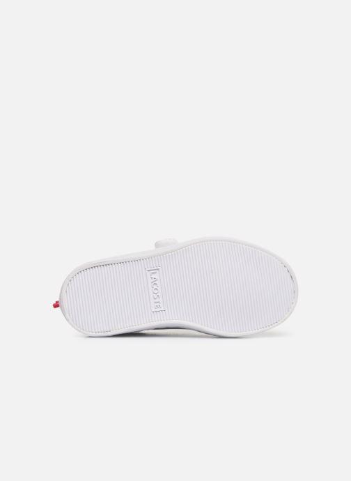 Sneakers Lacoste STRAIGHTSET 119 1 Vit bild från ovan