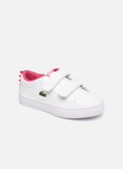 50ada721e29 Sneakers Lacoste STRAIGHTSET 119 1 Hvid detaljeret billede af skoene