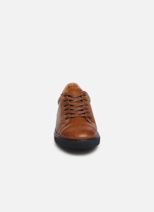 Trainers Pantofola d'Oro Napoli Brogue Uomo Low Brown model view