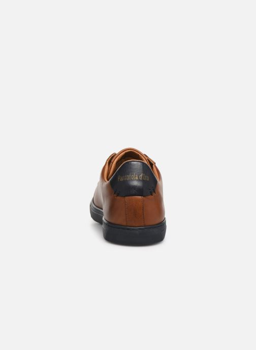 Trainers Pantofola d'Oro Napoli Brogue Uomo Low Brown view from the right