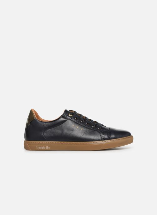 Trainers Pantofola d'Oro Napoli Brogue Uomo Low Blue back view