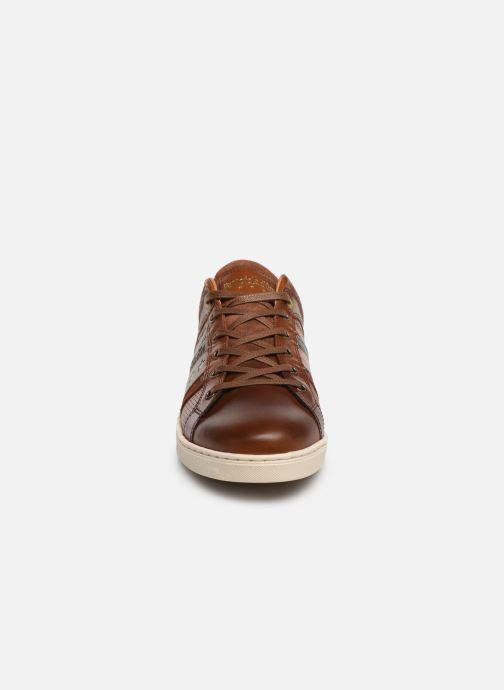 Baskets Pantofola d'Oro Enzo Uomo Low Marron vue portées chaussures