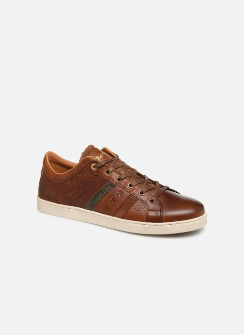Trainers Pantofola d'Oro Enzo Uomo Low Brown detailed view/ Pair view