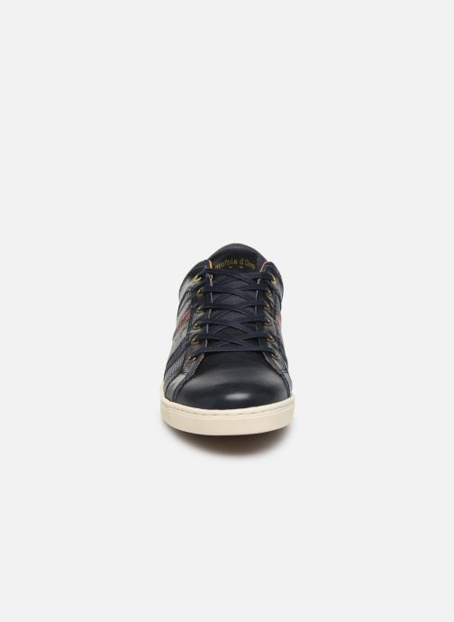 Baskets Pantofola d'Oro Enzo Uomo Low Bleu vue portées chaussures
