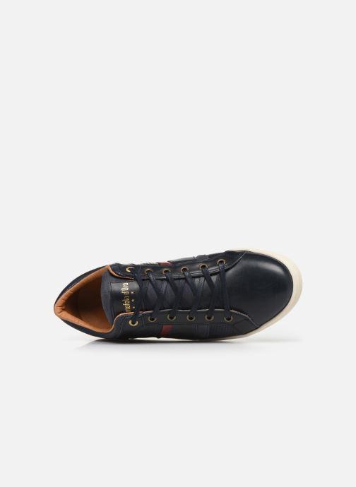 Baskets Pantofola d'Oro Enzo Uomo Low Bleu vue gauche